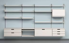 modern bookshelves furniture. vits 606 universal shelving system by dieter rams modern bookshelves furniture