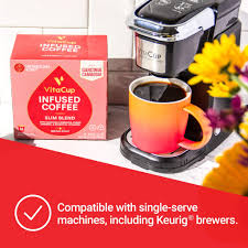 There are many benefits of making keto coffee with a nespresso machine or keurig machine and then adding butter and oil to it. Vitacup Slim Blend Coffee Pods 16ct Diet Metabolism Garcinia G Cario Herizon