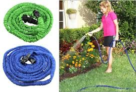 expandable garden hoses. Expandable Garden Hose In 4 Different Sizes: 25\u0027, 50\u0027, 75\u0027 Or 100\u0027 Hoses