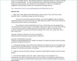 Summary Of Accomplishments Resume Examples For Students Awesome 38
