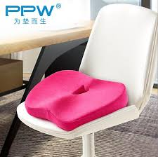 ppw new coccyx orthopedic seat cushion for chair car office