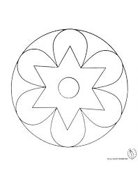 Disegno Mandala 2 Disegni Da Colorare E Stampare Gratis Per