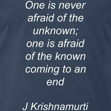 Krishnamurti Quotes Adorable Advaita Awareness Tees J Krishnamurti Quotes T Shirt Mens