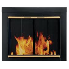 glass fireplace doors. This Review Is From:Arrington Large Glass Fireplace Doors O