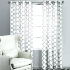 White Patterned Curtains Impressive Black And White Patterned Curtains Chaplinssteakhouseco