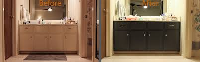 amazing painting bathroom cabinets to interior remodel concept with fixing our ling bathroom cabinets laura makes