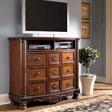Millennium North Shore Traditional Media Chest Wayside Furniture