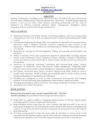 International Telecommunications Resume Sales