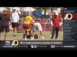 Redskins Qb Depth Chart 2018 Redskins Announce First Unofficial Depth Chart Who Is