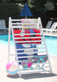 Pool Towel Drying Rack Magnificent Drying Rack From An Old Crib Rail The Kim Six Fix