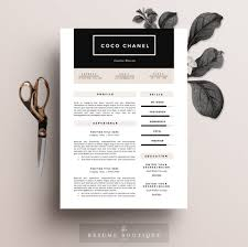 Resume Template 5 Page Pack Cv Template Cover Letter For