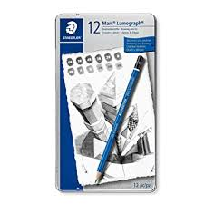 Staedtler Mars Lumograph <b>Drawing Pencil</b> for Design and Drafting ...