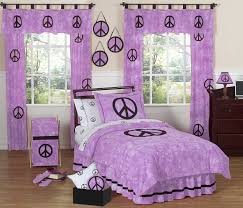 Peace Sign Bedroom Decor Bedroom Awesome Tie Dye Comforter Decor With Beds And Wooden