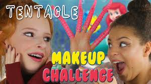 playing makeup challenge makeup game funny video nilipod