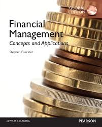 Finnacial Management Financial Management Concepts And Applications Global Edition
