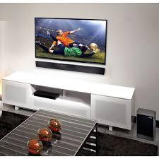 sound bar and tv wall mounted diy tv