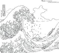 Waves Coloring Pages Ocean Coloring Sheet Sound Waves Coloring