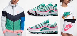 White Light Aqua Air Max Plus Outfit Air Max 97 South Beach Clothing And Hats Sneakerfits Com
