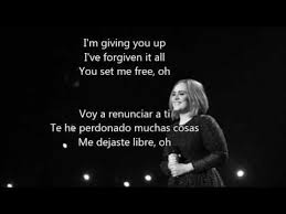 adele send my love to your new lover español ingles s traducción you