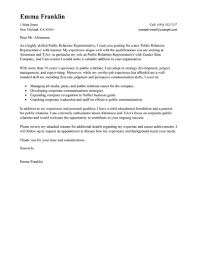 Sample Cover Letter For Employment Cover Letter Free Sample Marketing Public Relations Standard 15