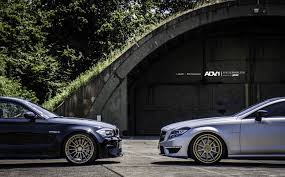 BMW 1M And Mercedes-Benz CLS63 AMG ADV.1 - Photoshoot