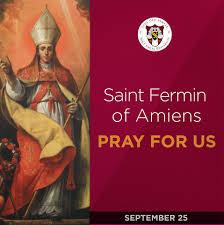 Saint Fermin (also Firmin, from... - Holy Angel University | Facebook