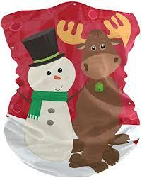 DOSHINE Bandana Face Mask <b>Cartoon Christmas Snowman</b> Deer ...
