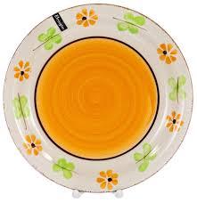 Купить Elrington <b>Тарелка</b> обеденная Цветочная фантазия 27 см ...