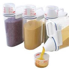 kitchen food storage box sealing up damp proof container