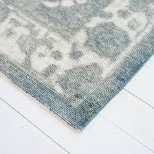 affordable pale sea green vintage tabriz rug corner with seafoam green rug