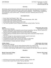 Lead Teller Resume Adorable Resume Sample Nissan Motors Sales Resume Sample With Provide