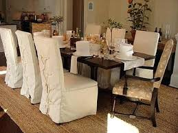slip covered dining chairs dining room chair slipcovers and also loose covers for dining