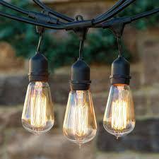 Industrial String Lights Pin On Verandah Ideas