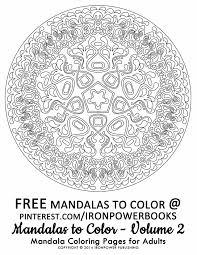 Free Printable Mandala Coloring Pages Moongateme