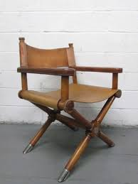 pair of ralph lauren leather director s chairs at 1stdibs