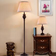 Us 927 25 Offhghomeart Led Amerikaanse Retro Vloerlamp E27 Zwart Ijzer Stof Lampenkap Draad Vloer Lampen 110 V240 V Woonkamer Woonkamer