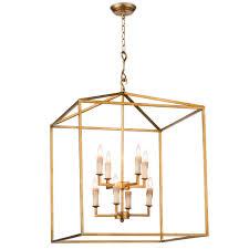 regina andrew design cape lantern antique gold leaf