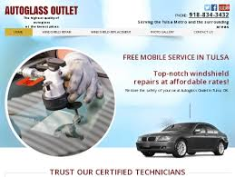 autoglass outlet windshield repair tulsa ok auto glass replacement tulsa ok