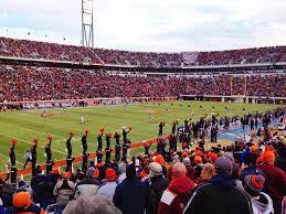 Scott Stadium Section 130 Rateyourseats Com