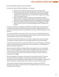 University Of Phoenix Inc 2011 Academic Annual Report