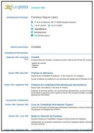 modelo curriculum modelo curriculum europass resumes resume curriculum