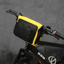<b>Bicycle Handlebar Bag MTB</b> Cycling Bike Reflective Front Pannier ...