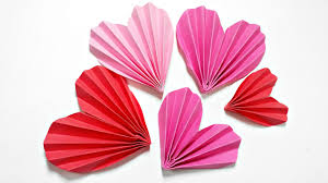 Design Craft Origami Heart 3d For Decoration Diy Crafts Paper Hearts Design Valentines Day Tutorial