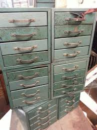 cool vintage furniture. Cool Vintage Storage Cabinet With Lots Of Little Drawers Furniture A