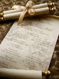 Scroll Wedding Program Under Fontanacountryinn Com