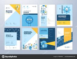 Company Brochure Design Online Set Brochure Design Templates Subject Education School
