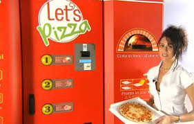 Italian Pizza Vending Machine Cool Pizza Vending Machine