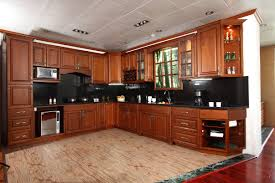 Kitchen Cabinet Wood Cabinet Wood Finish Feature Birch Designer Cabinets Granite Tile