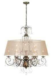 fancy antique gold chandelier belle light crystal chandelier w shade in antique gold antique gold mini