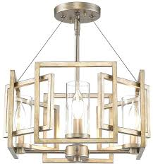 chandeliers semi flush mount chandelier elegant unique modern gold ceiling lights incredible decor